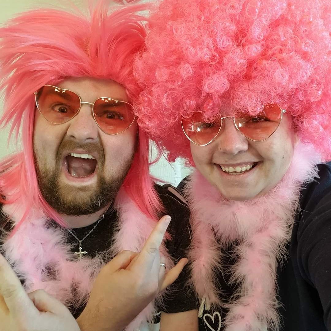 #Day319 of #PhotoEveryDay   We had our #WearItPink service this morning on the #HolyHacketts Facebook page  It was different, never led worship in a wig and tutu before!  But a powerful story shared and a moving experience raising awareness of a very important topic