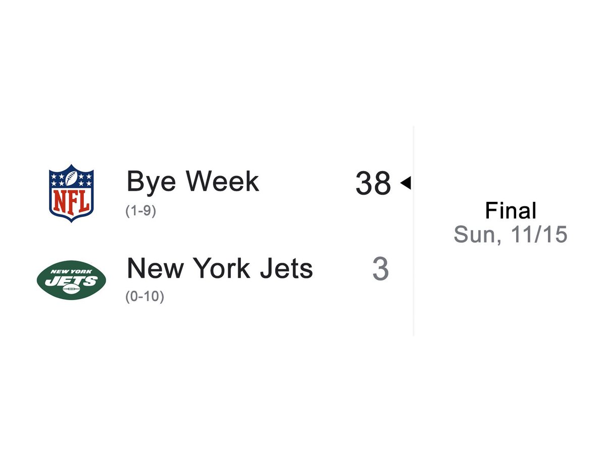 Jets drop another...