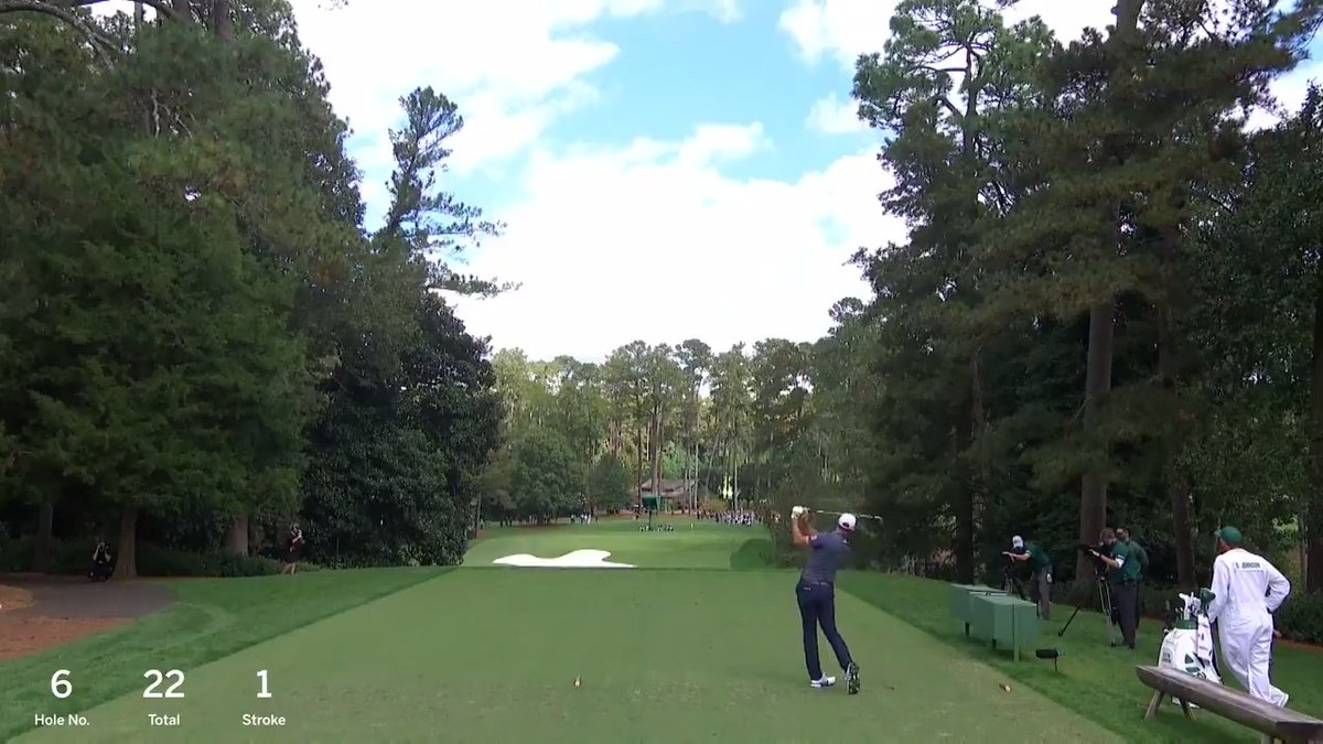 Watch every shot of Dustin Johnson's final round.  #themasters