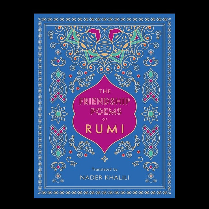 Might this beautiful, gold-embossed hardback edition, collecting together all the poetry by Sufi poet Rumi on the subject of friendship, be a great gift for one of your friends?    #gratefulforyoursupport #wearenotAmazon