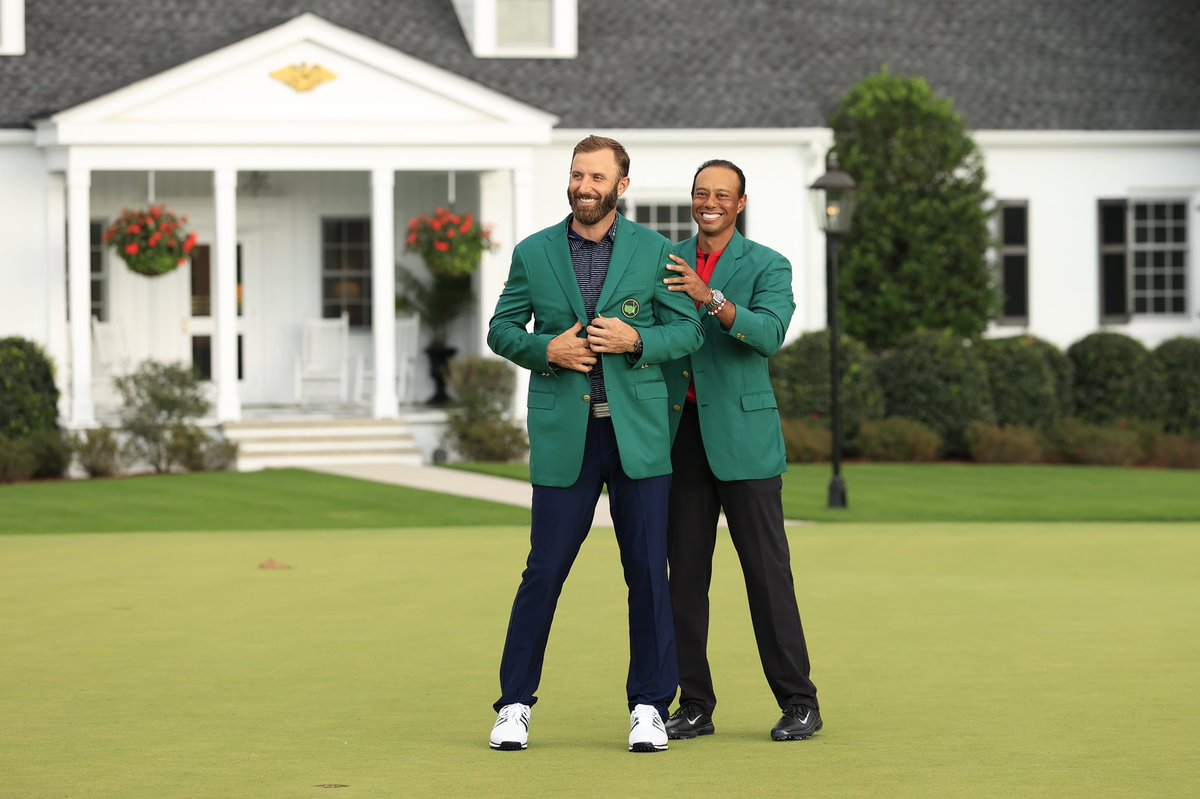 A dream come true. I'll remember this day at @TheMasters for the rest of my life. #themasters