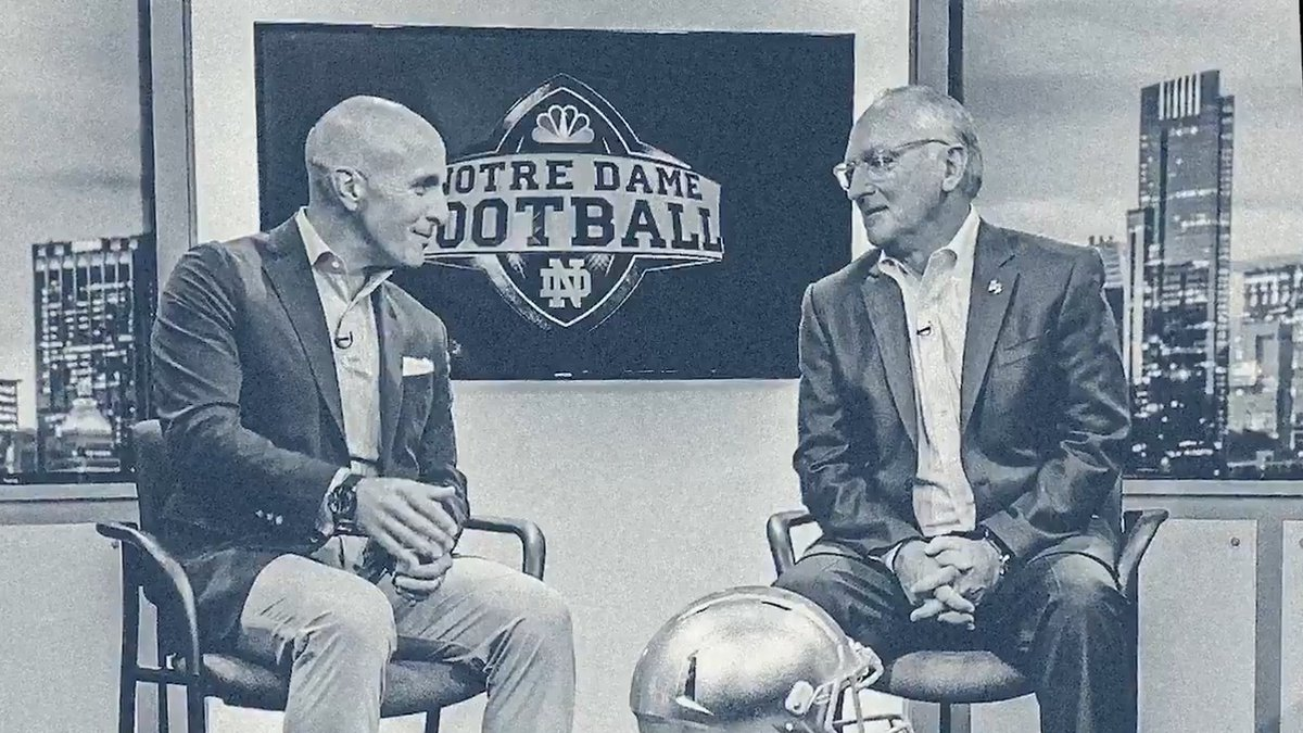 👀Don't miss episode 2 of 'Benchwarmers', a brand new series from @FightingIrish.  This week, Athletic Director Jack Swarbrick talks leadership and creating a winning culture with Pete Bevacqua, chairman of NBC Sports