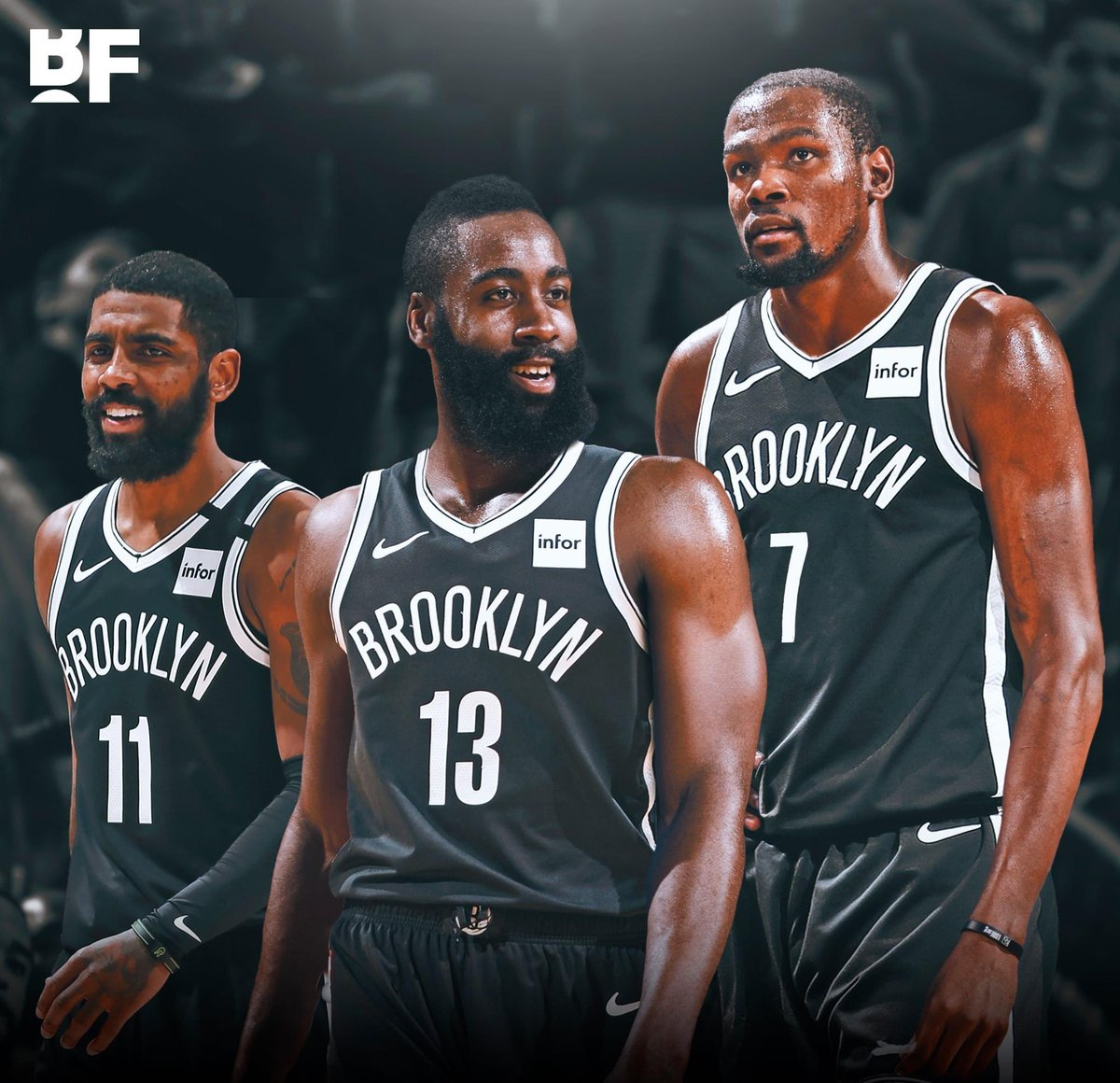 "Basketball Forever on Twitter: ""James Harden is interested in playing with  Kyrie and KD as the Rockets continue to crumble 👀… """