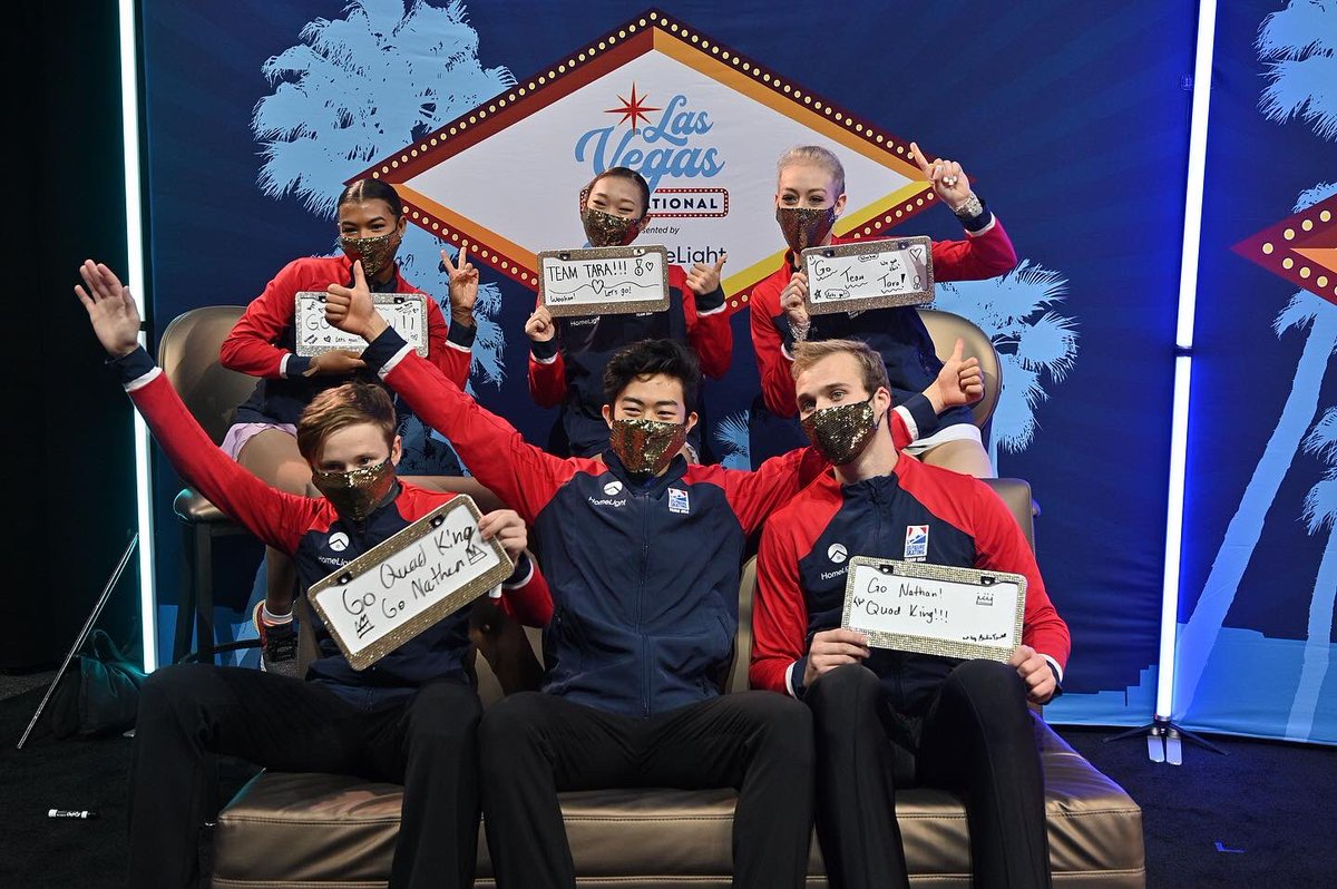 Team @taralipinski wins the Las Vegas Invitational presented by @HomeLightApp 🏆