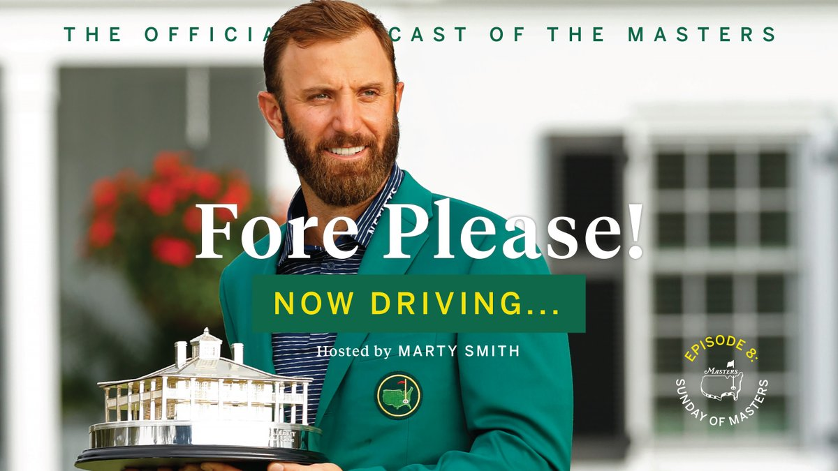 Host Marty Smith sits down with the voice of Masters Digital Jimmy Roberts to recount Dustin Johnson's record-setting performance. Johnson also answers questions about what the Masters and this win means to him. #themasters   Listen: