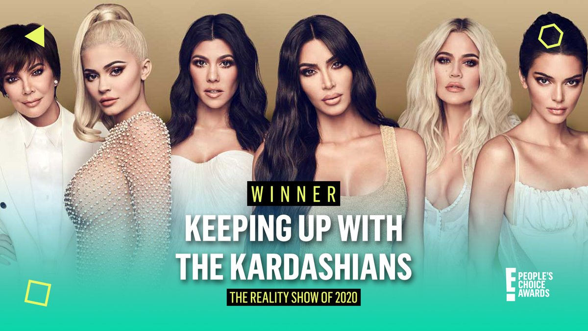 DOLLS, YOU DID IT! 💋#KUWTK took home the @peopleschoice for #TheRealityShow of 2020! #PCAs https://t.co/bZi1HmBD3t