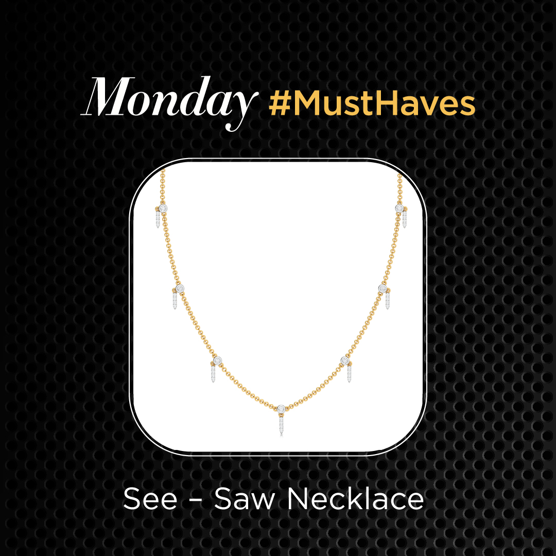 Here's your #MondayMotivation! Let's bid bye to the blues and gear up for the week with our Diamond #MustHaves!  Shop Now >    #Melorra #FineJewellery #EverdayJewellery #DiamondJewellery #LightweightJewellery #AffordableJewellery #WomenFashion #ShopOnline