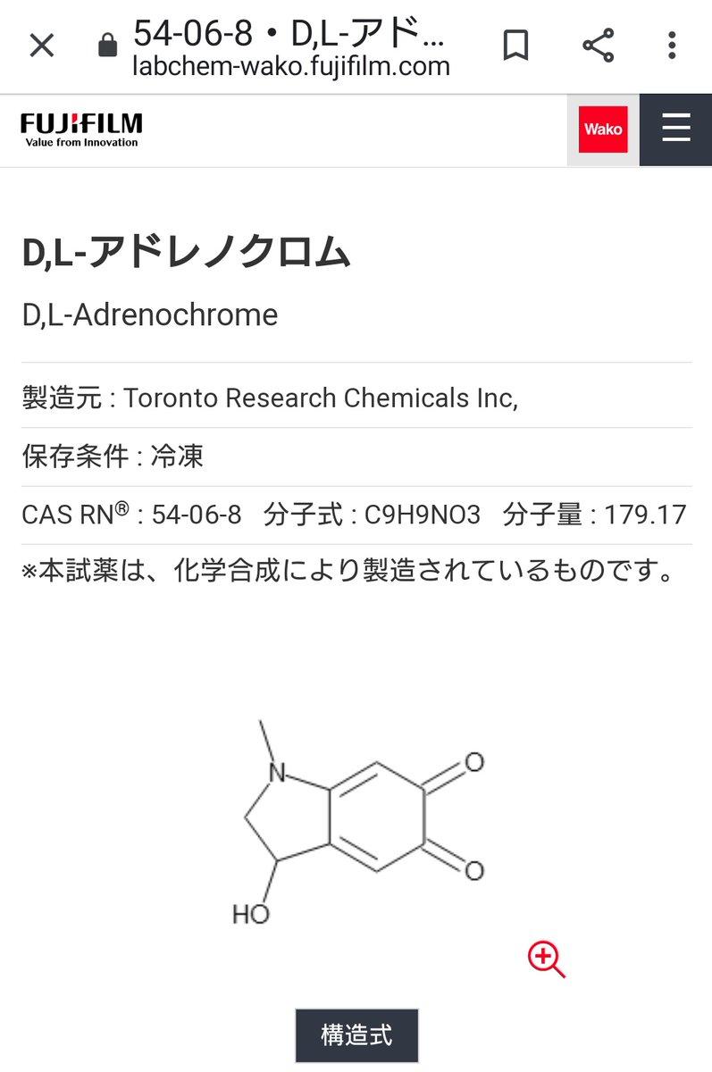 作り方 アドレノクロム