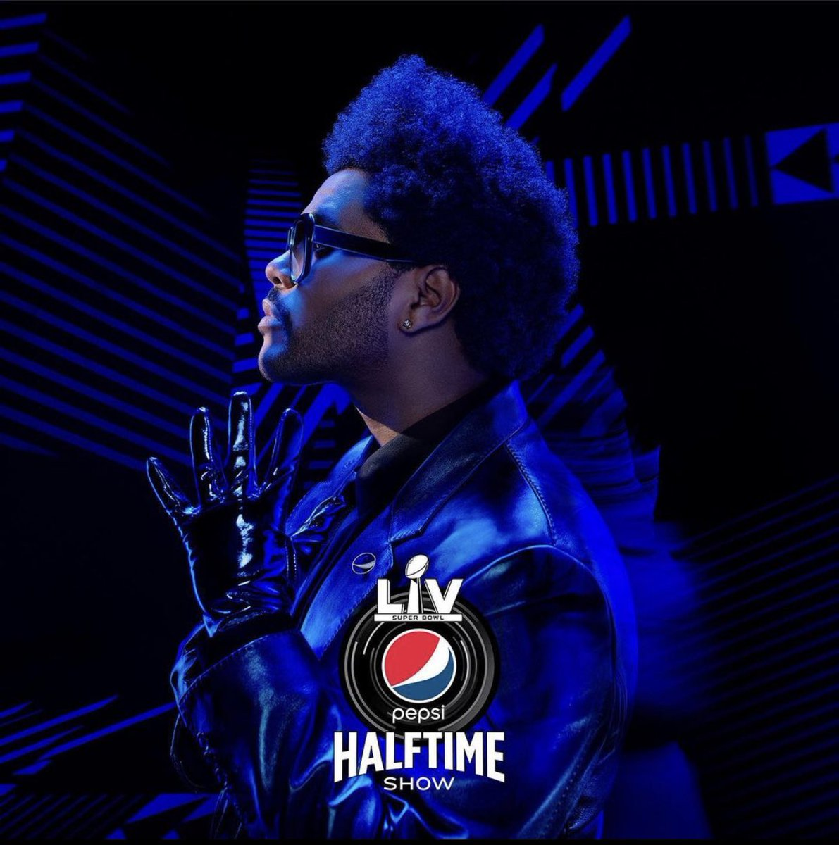 🤯 @theweeknd Is performing Live on one of the biggest stages of them all. The SUPER BOWL! @pepsi #PepsiHalftime #music #nfl #SuperBowl #heyyilovemusic
