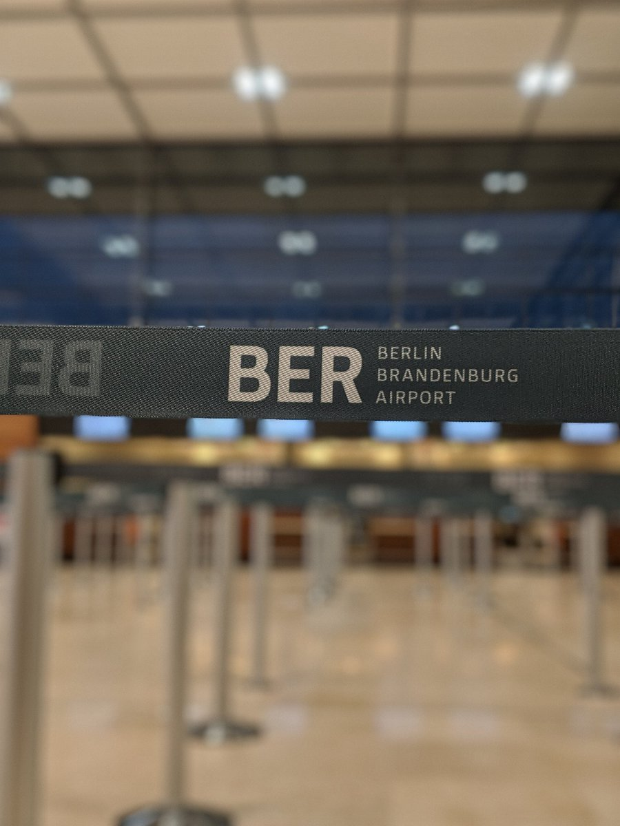 The mythical BER! 🇩🇪🛫