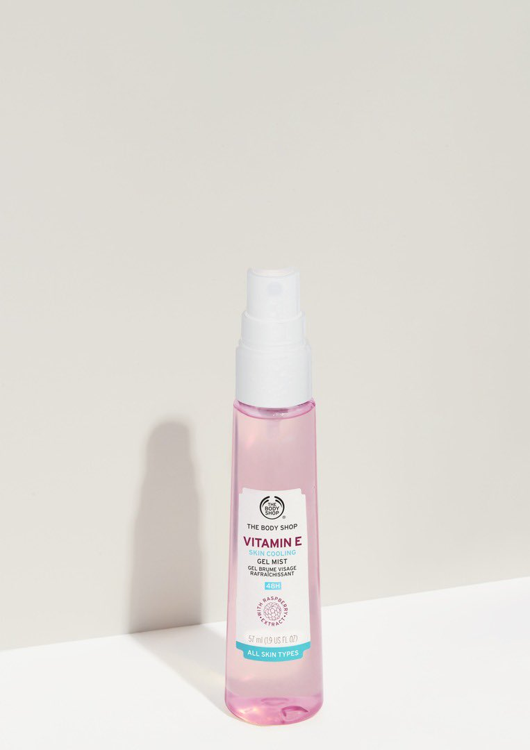 Our Vitamin E Cooling Gel Mist is enriched with raspberry extracts which is a rich antioxidant. Cool & refresh yourself with a speedy hit for super light hydration. Shop Online, in-store or via home delivery call +917042004412 #TBSInd #VitaminE #FaceMist #GelMist #Hydrate