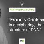 #FrancisCrick was a