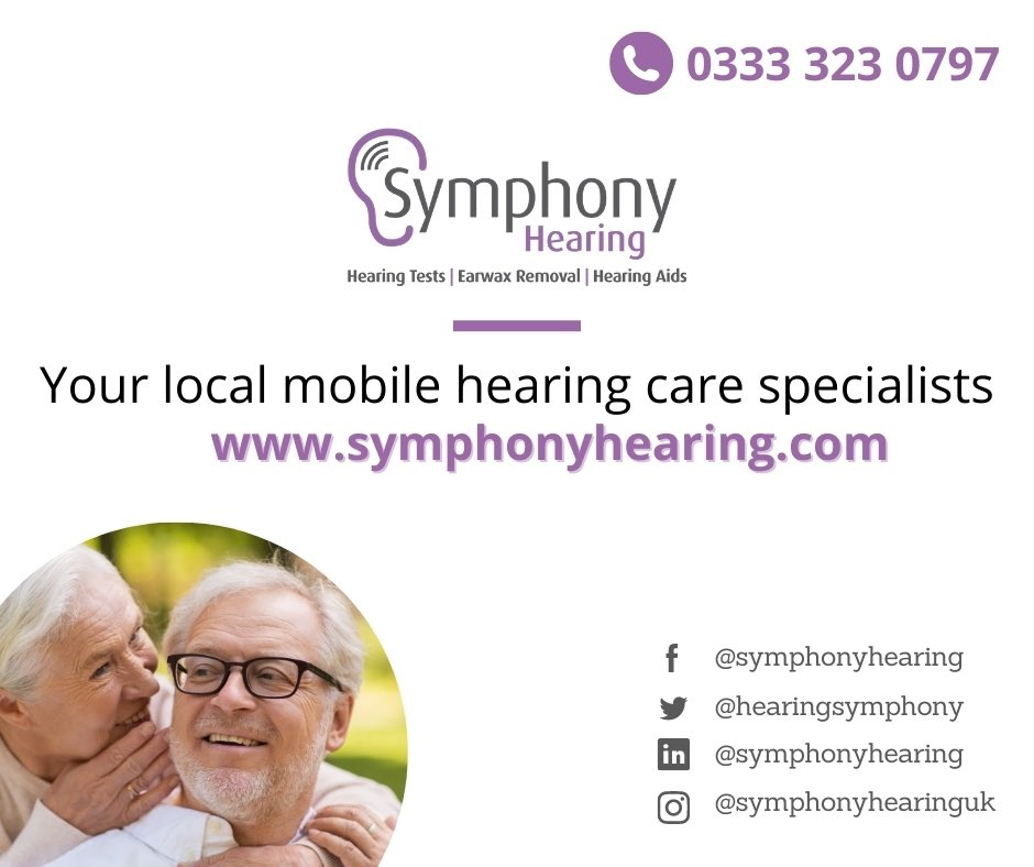 Check out our new and updated website!  Be a part of the conversation and also follow our Symphony Hearing journey on Facebook, Twitter, Instagram and LinkedIn. #localbusiness #hearingloss #surrey #Leicester #hearingaids #earwax