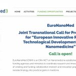 Image for the Tweet beginning: OPENS TODAY! The @euronanomed Joint