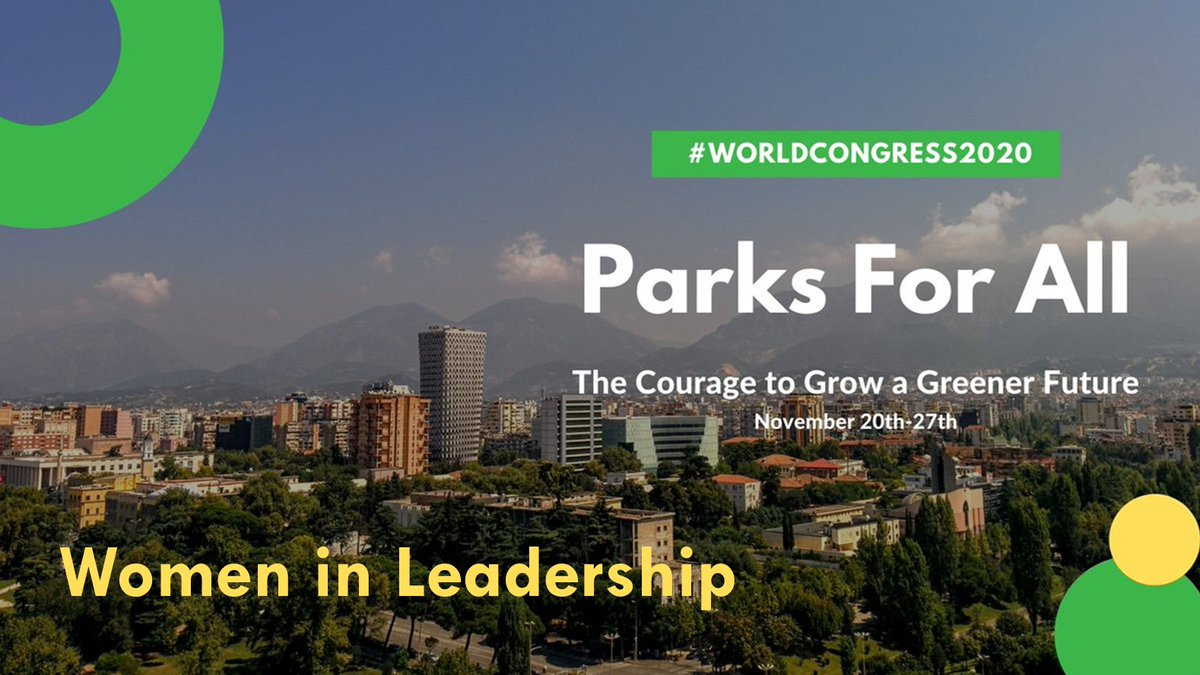 """Don't miss out! Starting in 30mins at @WUParks #WorldCongress2020 