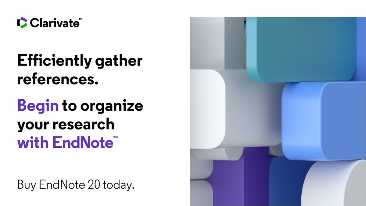 Trying to track down multiple references in multiple places? Learn how you can research more efficiently, and begin to stay organized with EndNote:   #EndNote #EndNote20 #research #citations #phdlife #ecrchat