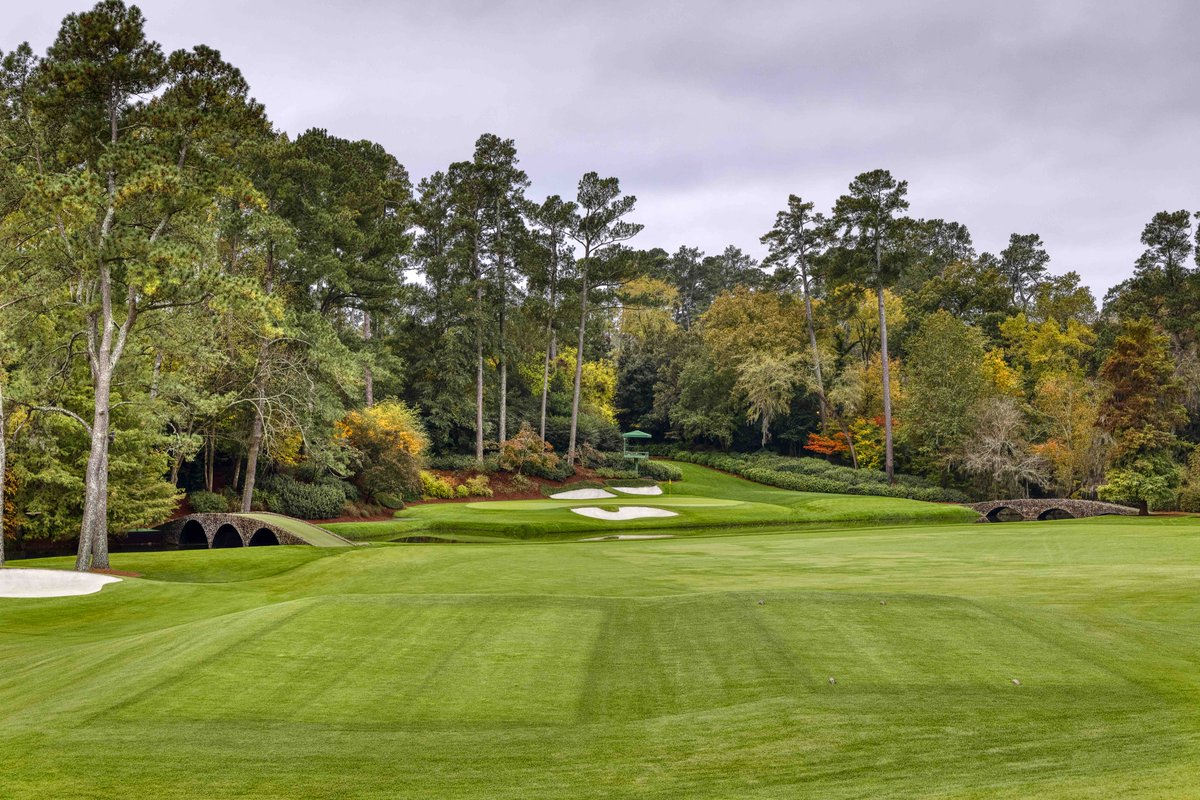 Until April...  #themasters