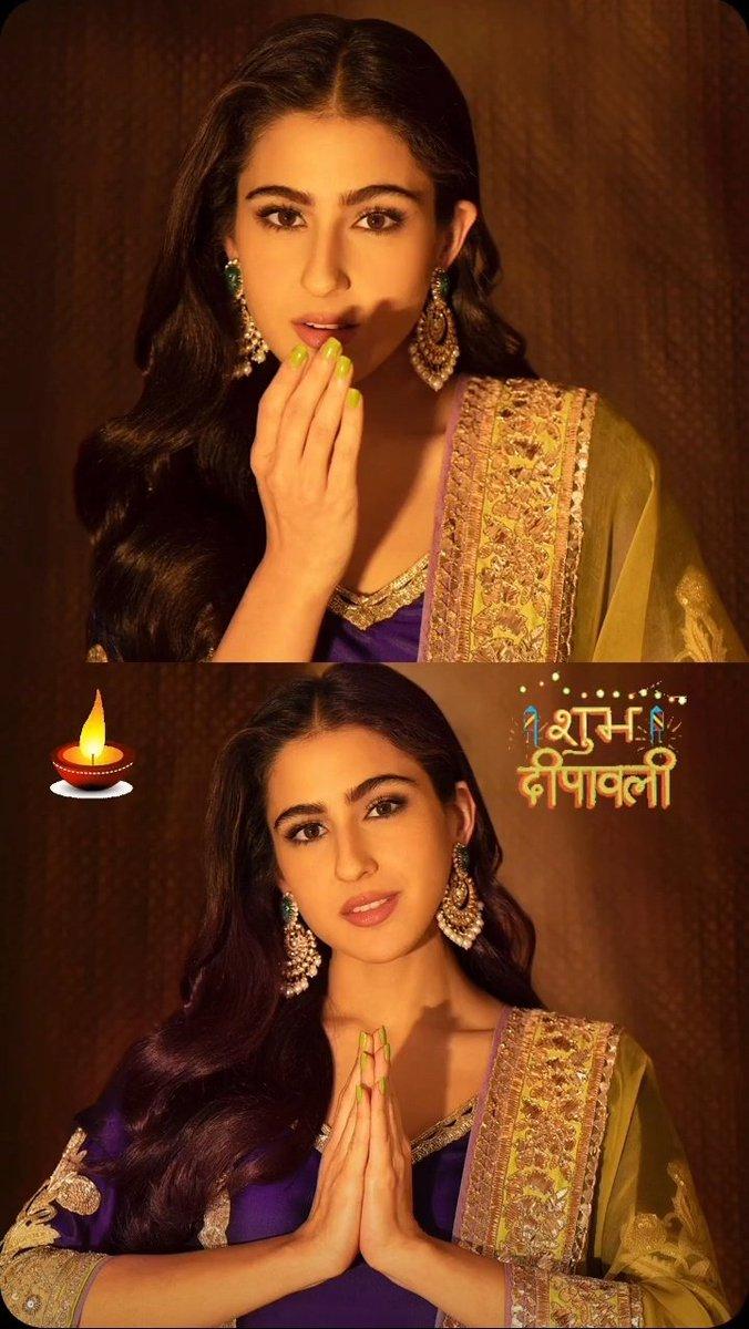 Diwali special 🌟 #SaraAliKhan