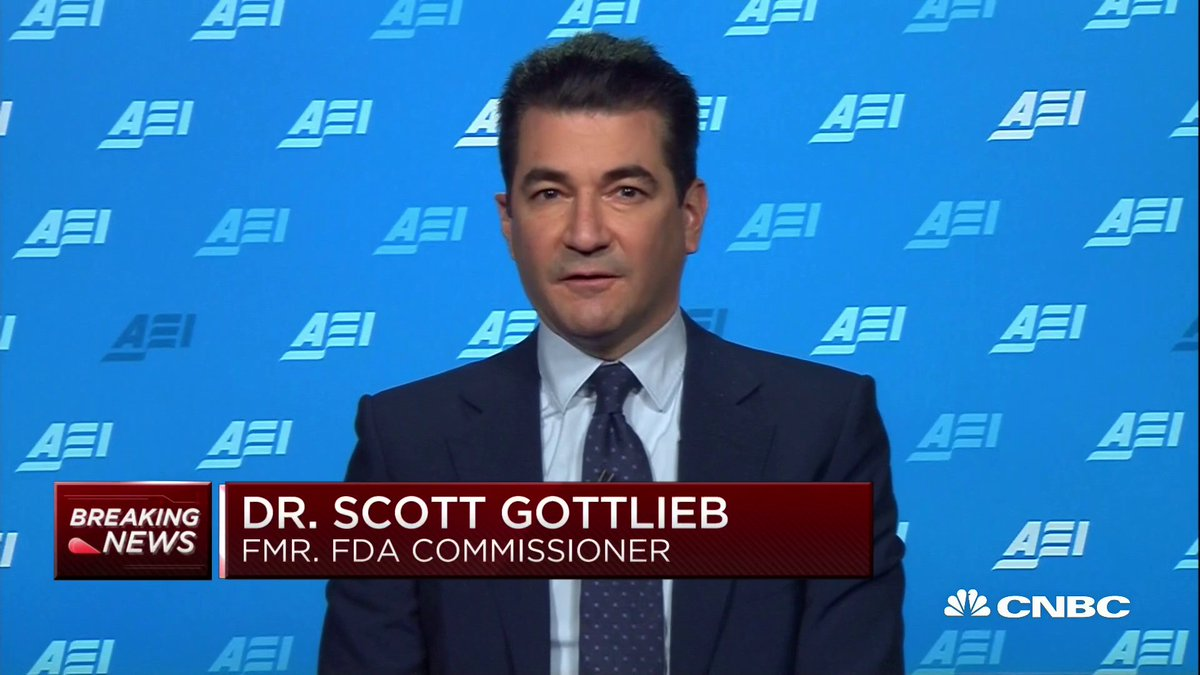 We could effectively end this pandemic in 2021. Former FDA Commissioner Scott Gottlieb says the combination of two effective vaccines and the fact that much of the population has already gotten COVID-19 could spell the end of the coronavirus pandemic. cnb.cx/3pAVJ75