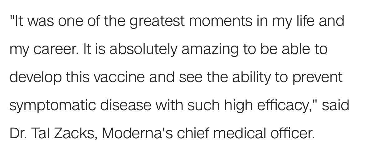 What a sentence! We don't talk enough about this side of science when we educate young people on their career choices: its raw power, impact and potential for good 👏👏👏