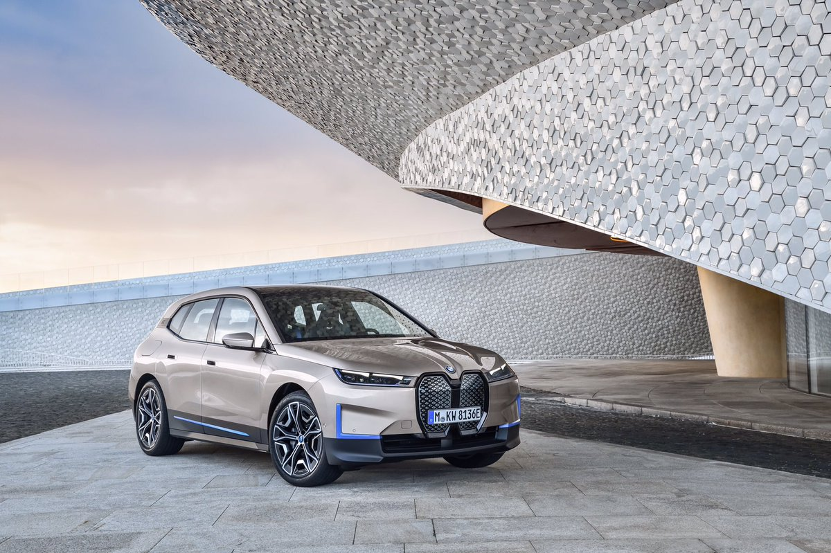 . The first-ever BMW iX is here. #BMW #ANABMW #alialghanimsons https://t.co/01tjKpp2EM