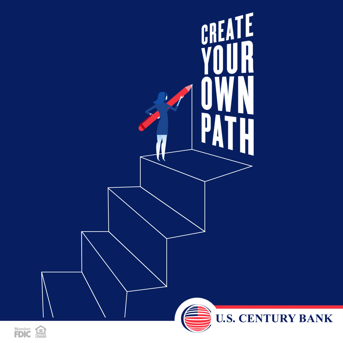 #MOTIVATIONALMONDAY :  There is no ONE way, there is only YOUR WAY - Call or visit us at   305.715.5200 #digitalworld #bankwisely #uscb #southflorida #itsthepeoplethatmakeus #onlinebanking #bankfromhome #stayconnected #motivationalmonday#sba#ventureoff