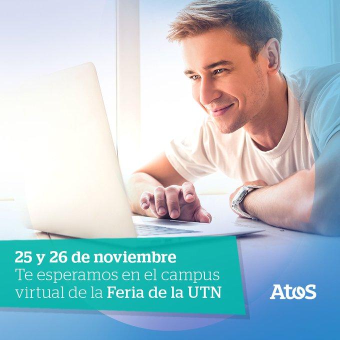 Los esperamos en la Feria de Empresas Virtual de UTN 📆 El 25 y...