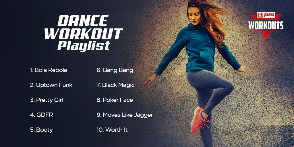 Show 'em you're 'Worth It' with your moves, your groove, and your fittest self. Turn on the 'Dance Workout' playlist on Gaana and get into the rhythm.   #GaanaWorkouts