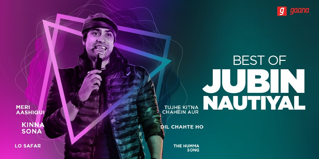 He can make you fall in love with 'Tum Hi Aana' as well as he can make you groove to 'The Humma Song'. Catch the 'Best of @JubinNautiyal', here on Gaana: