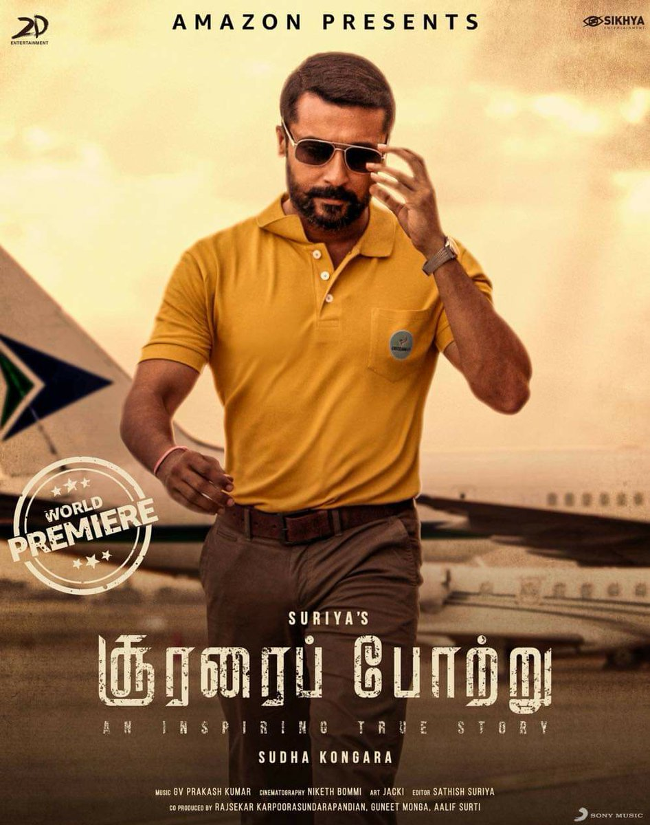 #SooraraiPottru #AakaasamNeeHaddhuRa - Watched it with a big gang of friends, all boys, 3 of them cried, I was just raging through the film and fired up to see the outsider make his statement 🔥 and a statement was made!