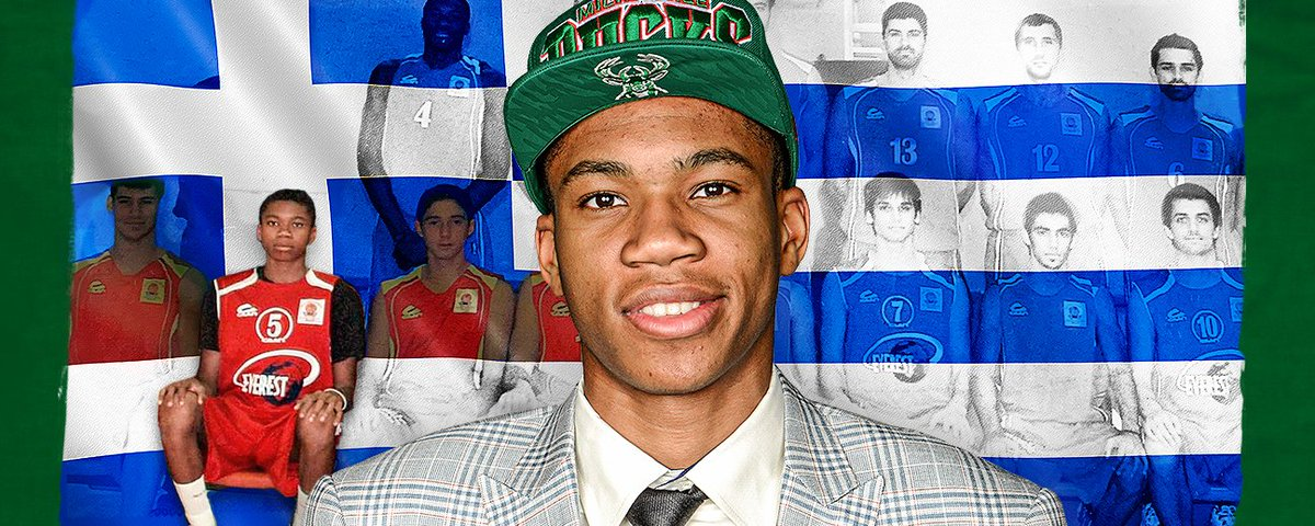 """The Giannis Draft,"" A three-episode audio series launching today. Listen to Episode 1:"