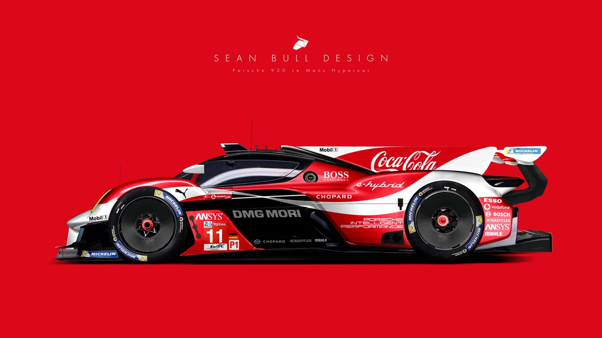 Uživatel Sean Bull Design Na Twitteru Porsche 920 Livery Design And Lemanshypercar Concept Loved All The Porsche Unseen Reveals My Favourite Of Them All Had To Be The 920 Hypercar Concept Envisioned