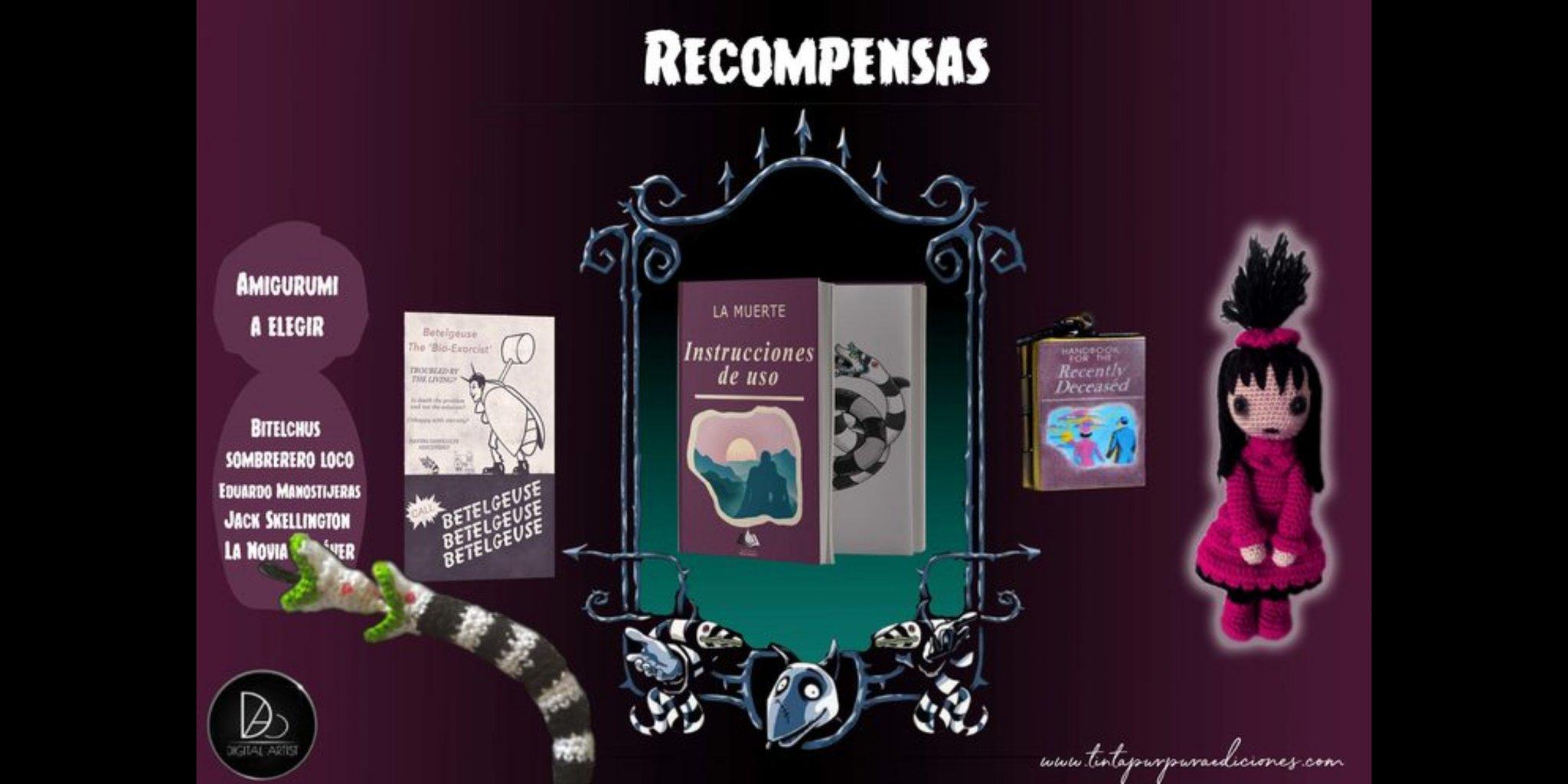 Recompensas de La muerte, instrucciones de uso. Tinta Púrpura Ediciones - Cine de Escritor
