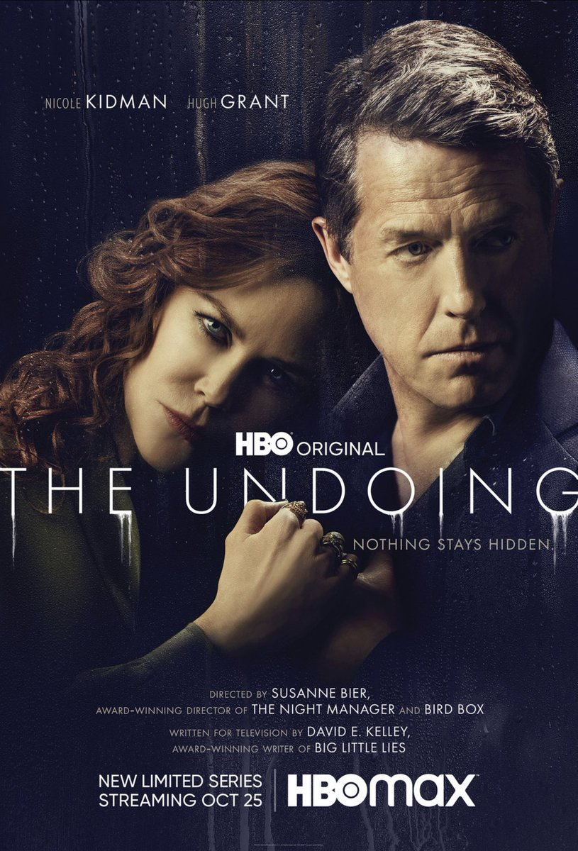 The incredible and gorgeous #NicoleKidman and this riveting whodunit #TheUndoing what a delight.