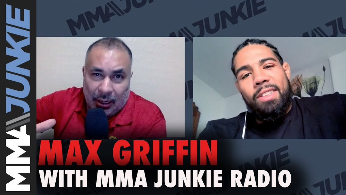 """It's not something to be proud of that you dished out the most gruesome injury in UFC history.""  @MaxPainGriffin shared his mom's reaction to his unforgettable ear-ripping win. 😬  Watch @MMAJunkieGeorge, @TheGoze's full interview: https://t.co/h5bZRbSg9F https://t.co/476gFcNd7N"
