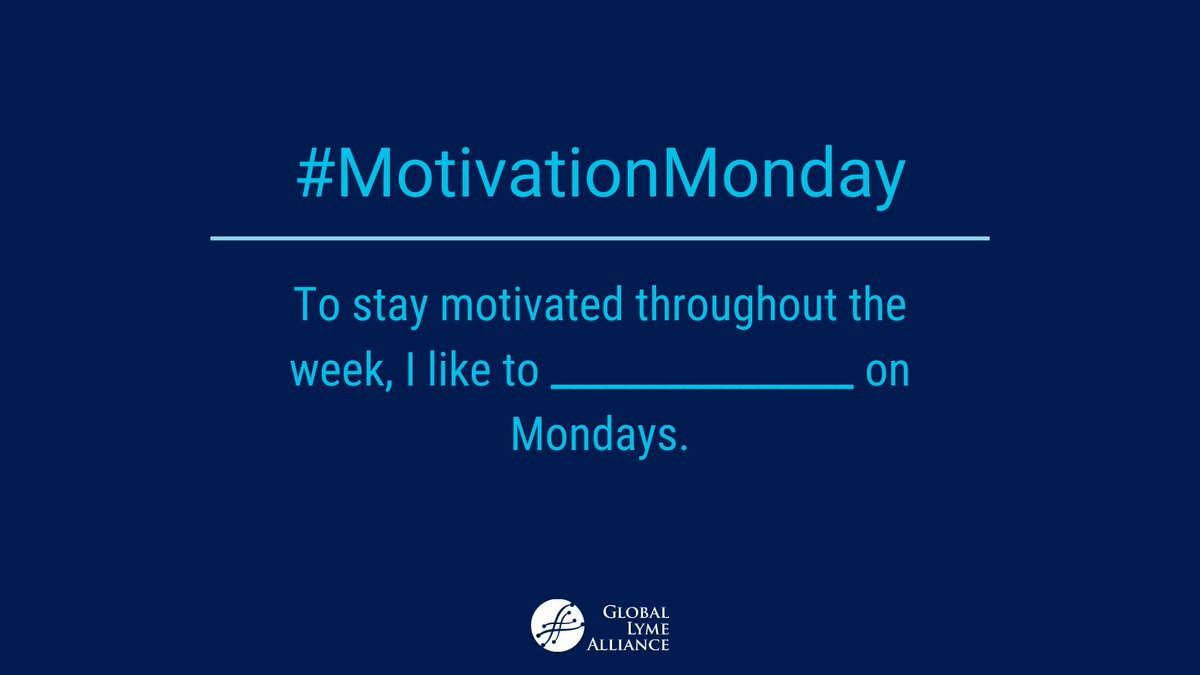 What helps you to get your week started?