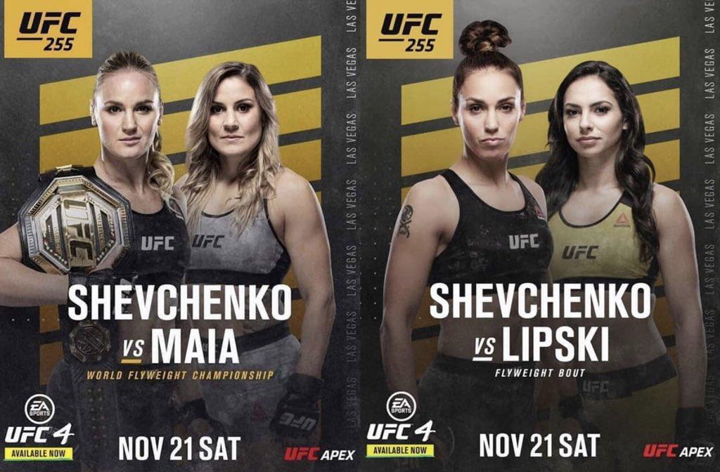 It's #FightWeek 👊🏻 #UFC255 #UFCsisters #НеделяБоя https://t.co/hQ5UDnRy36