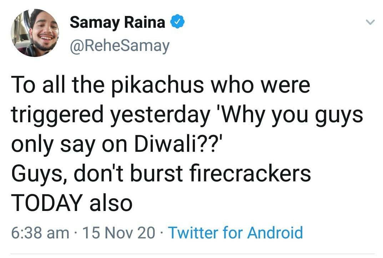 Simple hai. 😆😆😆  #Diwali #saynotocrackers