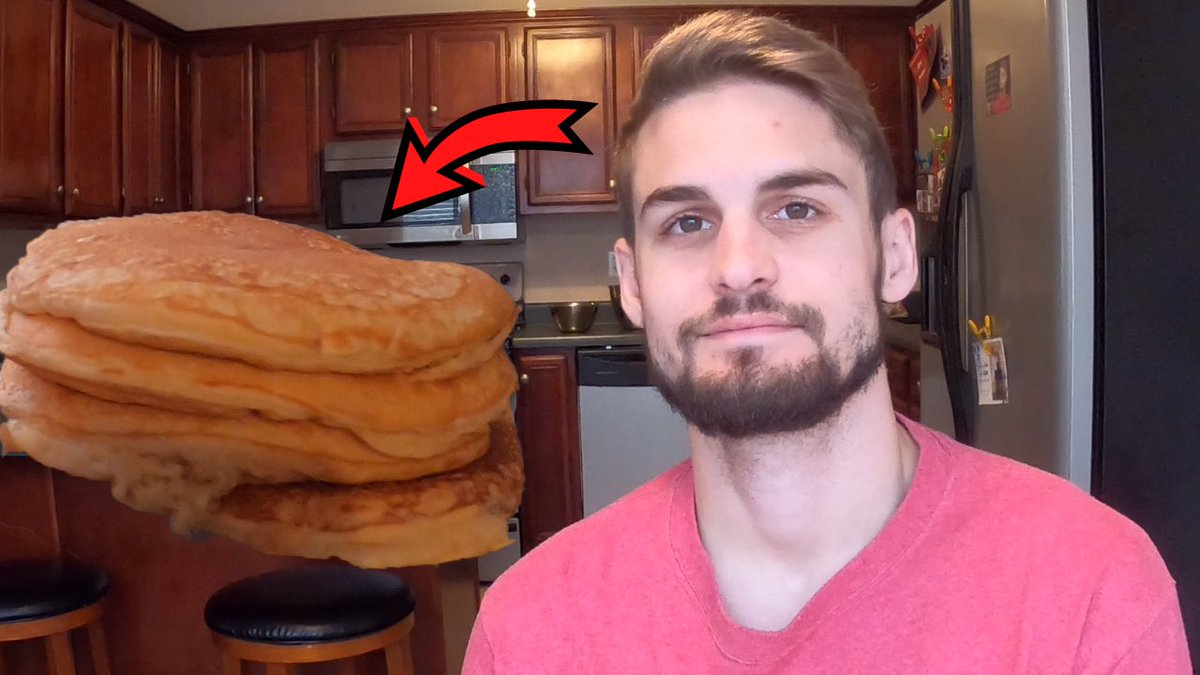 """MATCH1N - New YT vid up, """"Cooking With MATCH1N"""", new series I'm starting. Yes I love to cook! #pancakes"""