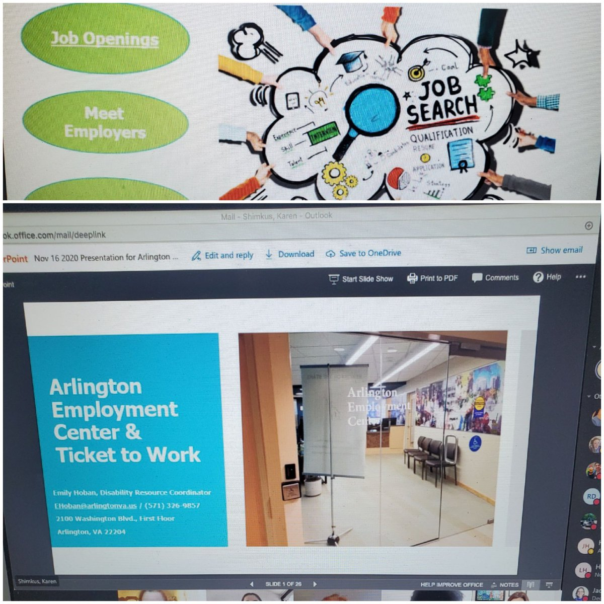 Thank you to Emily Hoban from the Arlington Employment Center for teaching our students in PEP about getting a job! <a target='_blank' href='http://search.twitter.com/search?q=PEPupyourfuture'><a target='_blank' href='https://twitter.com/hashtag/PEPupyourfuture?src=hash'>#PEPupyourfuture</a></a> <a target='_blank' href='http://twitter.com/APSCareerCenter'>@APSCareerCenter</a> <a target='_blank' href='https://t.co/sPqvmDbkb8'>https://t.co/sPqvmDbkb8</a>
