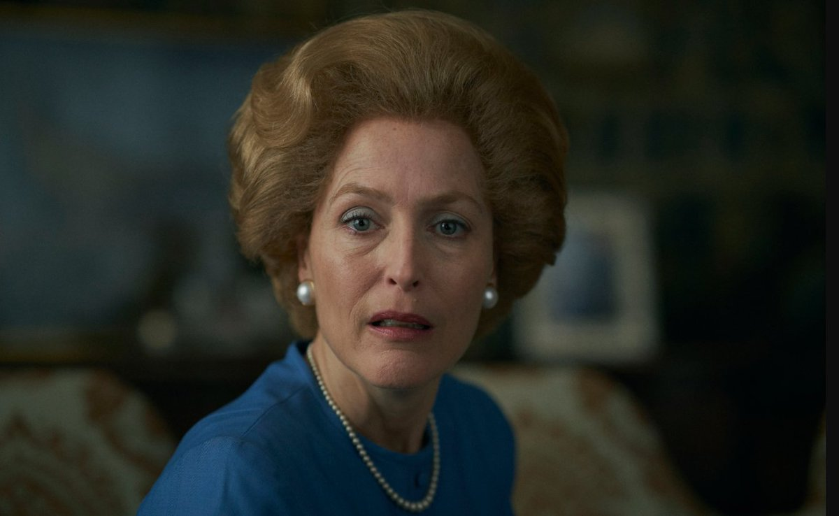 TODAY: Actor Gillian Anderson (@GillianA) on playing Margaret Thatcher on @TheCrownNetflix. Well also talk about her roles in Sex Education and as Dana Scully in The X-Files.