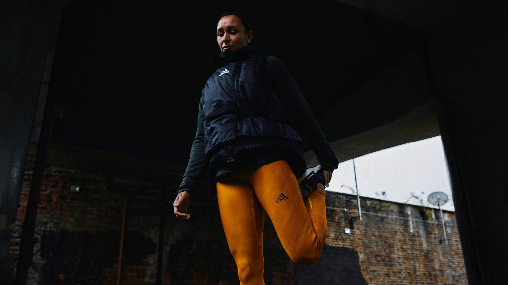 Warm up for winter in the COLD.RDY collection.  Its intuitive layering system works to keep you feeling dry and moving freely throughout the entirety of your run.  Available now at:    #adidasRDY