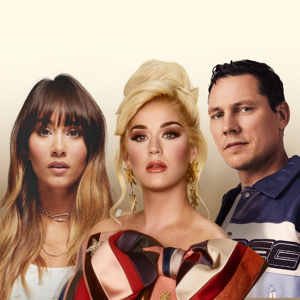".@katyperry collabs with @tiesto and @Aitanax on the latest version of her single #Resilient. Listen to ""Resilient (Tiesto Remix)"" now:"