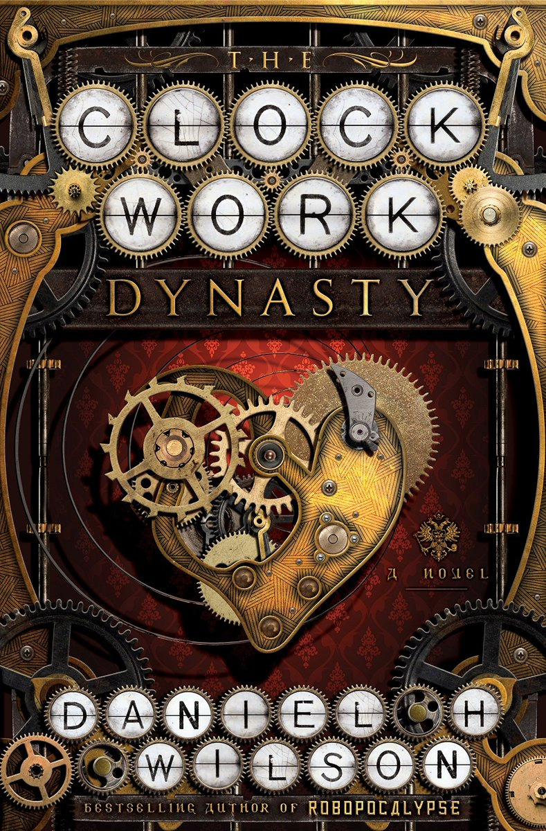 Staff Pick: The Clockwork Dynasty by <a target='_blank' href='http://twitter.com/danielwilsonpdx'>@danielwilsonpdx</a>  A steampunk thriller that weaves a path through history, following a race of human-like robots that have been hiding among us for untold centuries. <a target='_blank' href='http://search.twitter.com/search?q=YHSStaffpicks'><a target='_blank' href='https://twitter.com/hashtag/YHSStaffpicks?src=hash'>#YHSStaffpicks</a></a>  <a target='_blank' href='http://twitter.com/APSLibrarians'>@APSLibrarians</a> <a target='_blank' href='http://twitter.com/YorktownHS'>@YorktownHS</a> <a target='_blank' href='https://t.co/hT6buBa2Y7'>https://t.co/hT6buBa2Y7</a> <a target='_blank' href='https://t.co/ckLQa1CAzj'>https://t.co/ckLQa1CAzj</a>