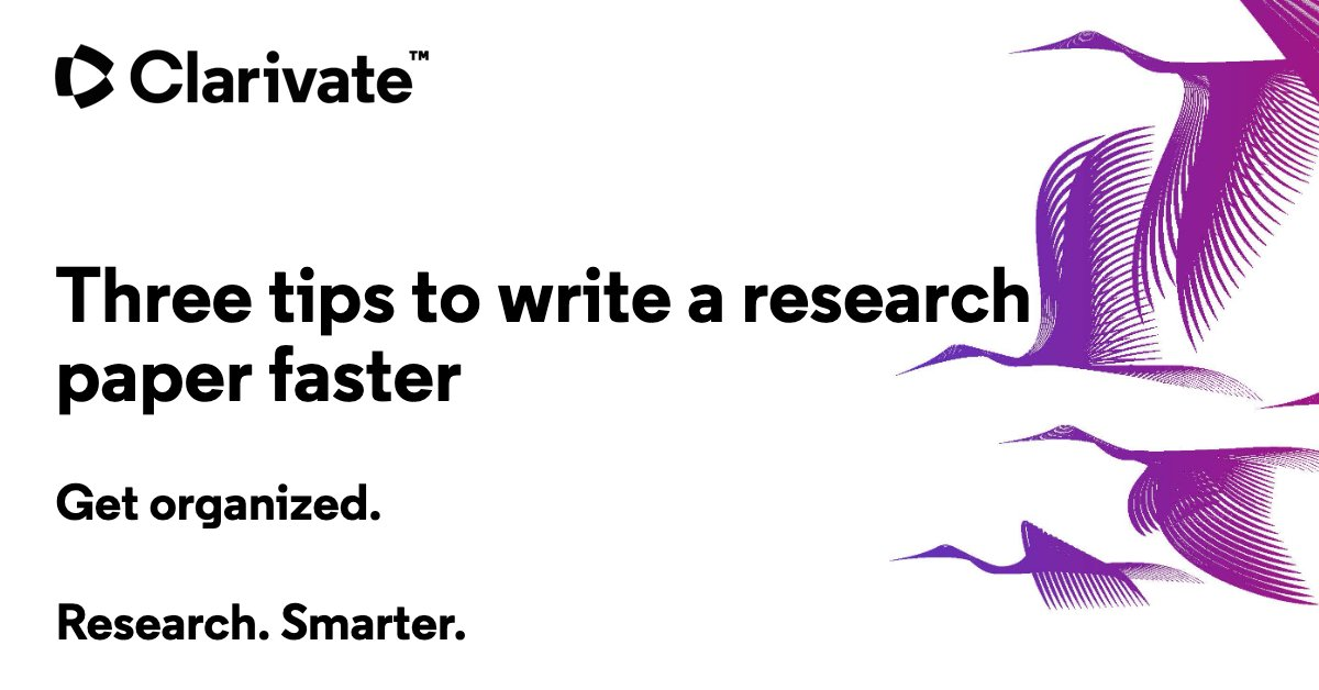 Are you struggling to organize, add to and format your bibliography? Save hundreds of hours with these three tips  >>  #researchsmarter #ecrchat #phdchat #postdoc #research