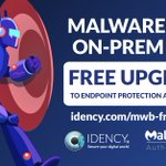 Image for the Tweet beginning: FREE upgrade to Malwarebytes Endpoint