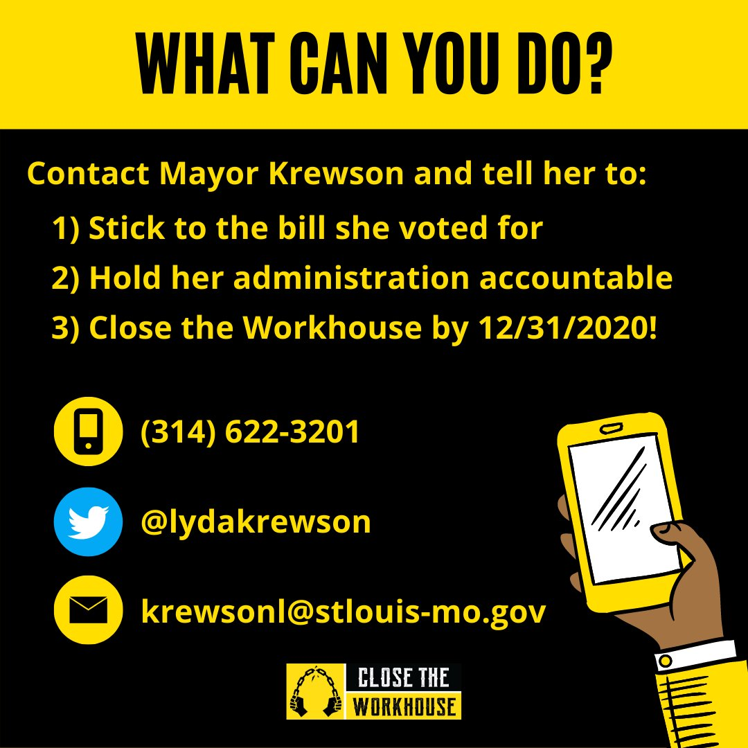 The Workhouse, by law, is supposed to close in 45 days and @LydaKrewson is still failing to do her job. Where is the report from Dr. Echols? Where is the report from BPS? Why hasn't @LydaKrewson directed her administration to follow the ordinance that she signed into law??