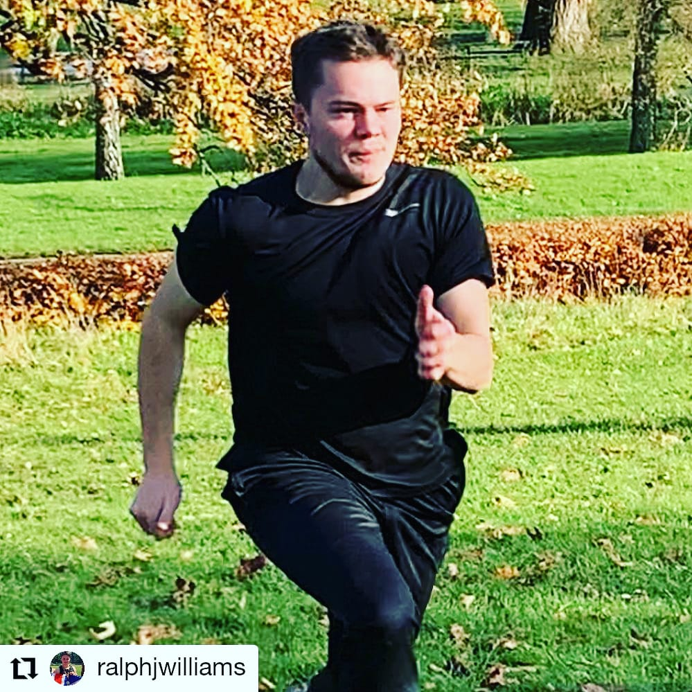 Twin brothers Ralph and Hay and Haydn Williams have been keeping us updated during  lockdown 2.0.  Here is Ralph's session from yesterday 😀👏  Sunday 15th November, 2020  HILLS 2 sets of 4 x 100m  #hurdles #hurdle #hurdledrills #hurdler #hurdlesquad