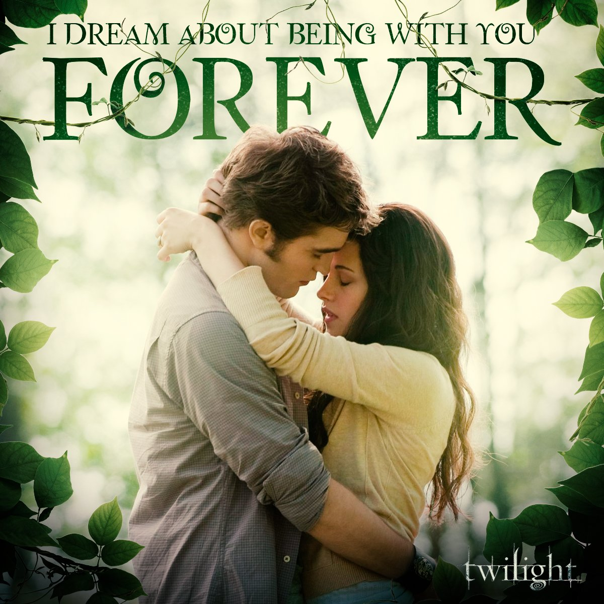 i would personally like to be included in that forever pls and thank u #Twilight