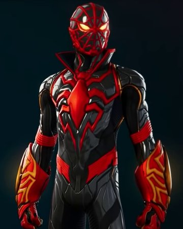another suit I designed for Spider-Man: Miles Morales - strike suit